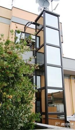 室外框架电梯